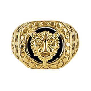 bague en or tete de tigre