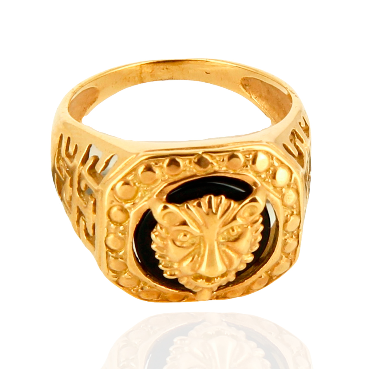 Bague tigre or 9k - TERRA